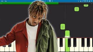 How to play Graduation - EASY Piano Tutorial - benny blanco & Juice WRLD