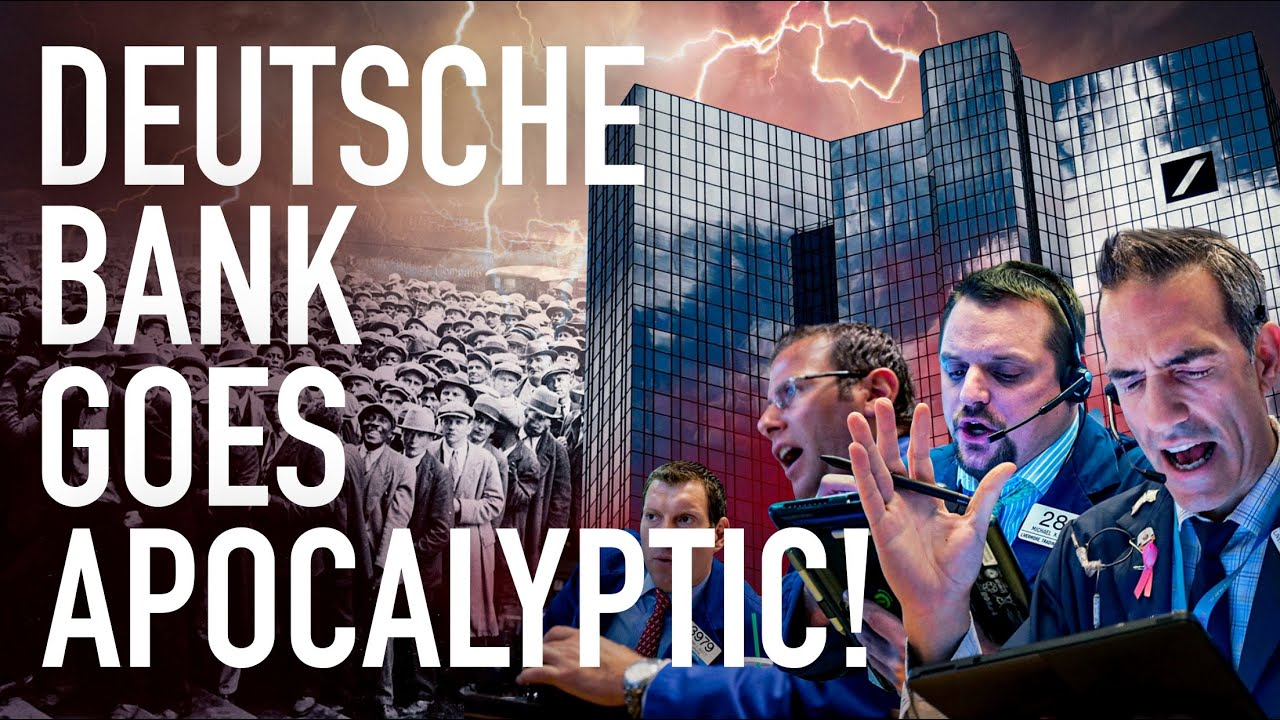 Deutsche Bank Goes Apocalyptic: Inflation Is Exploding & Leaving U.S. Economy Sitting On A Time Bomb