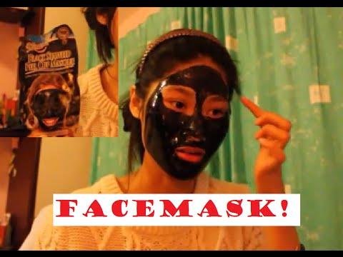 Black Seaweed Peel Off Mask