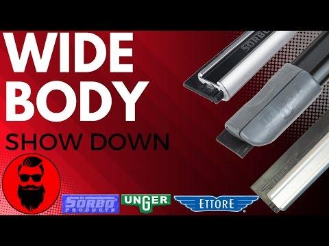 WIDE BODY SQUEEGEE CHANNEL- Tool Reveiw