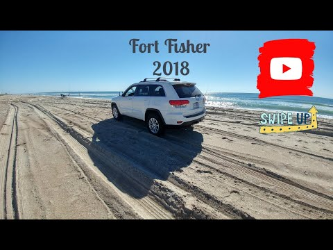 Fort Fisher Beach Driving!