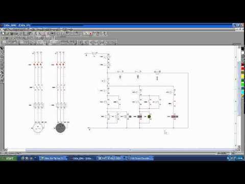 Thiết kế mạch 2 động cơ chạy luân phiên nhau ( mô phỏng)