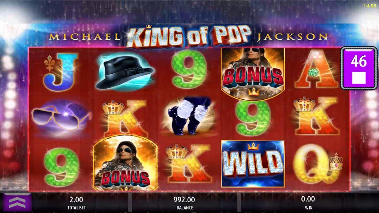 Michael Jackson - King of Pop slot machine for Online Casinos