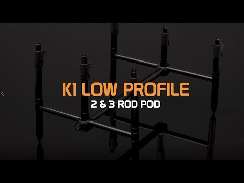 K1 Low Profile 2 & 3 Rod Pod
