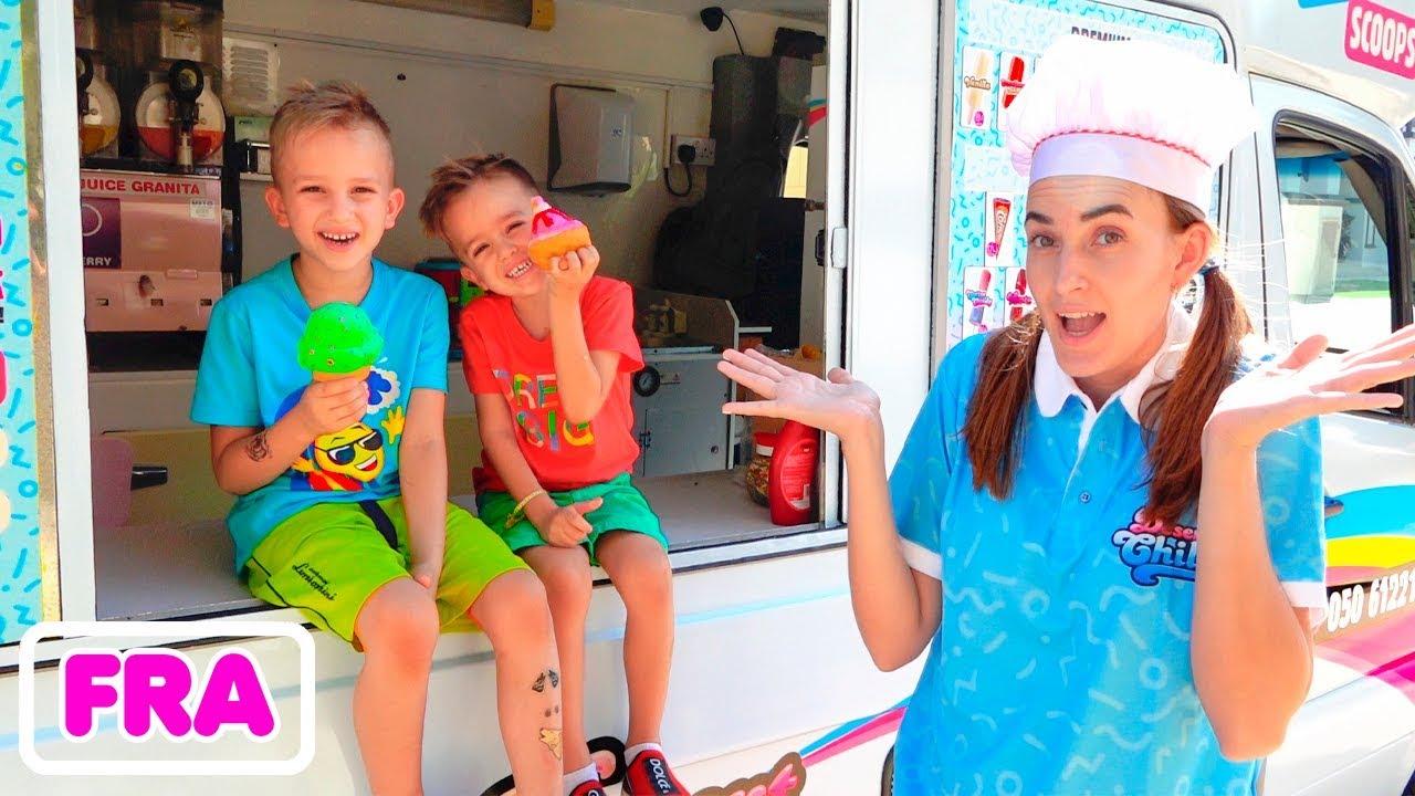 Download Collection d'histoires - Vlad et Nikita font les vendeurs de glaces