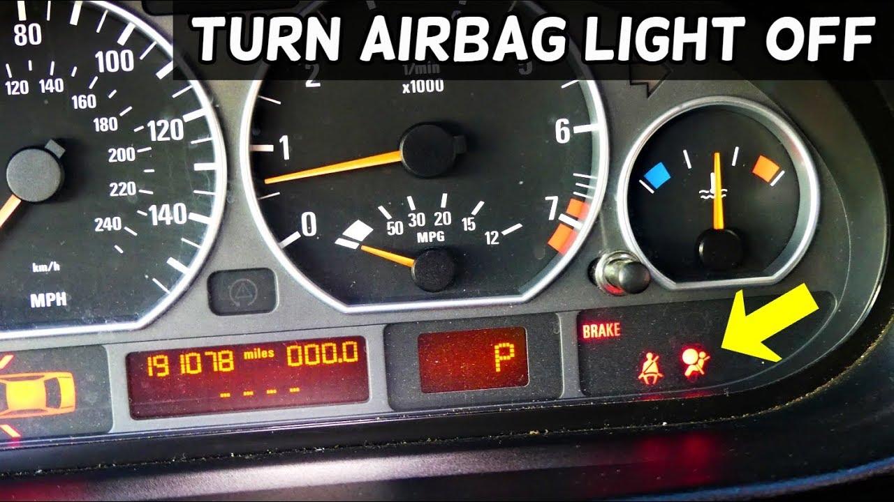 how to turn airbag light off on bmw e46 316i 318i 320i. Black Bedroom Furniture Sets. Home Design Ideas