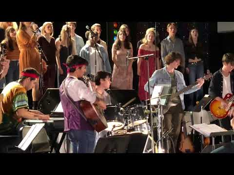 Palisades Charter High School Concert Choir - Stairway to Heaven
