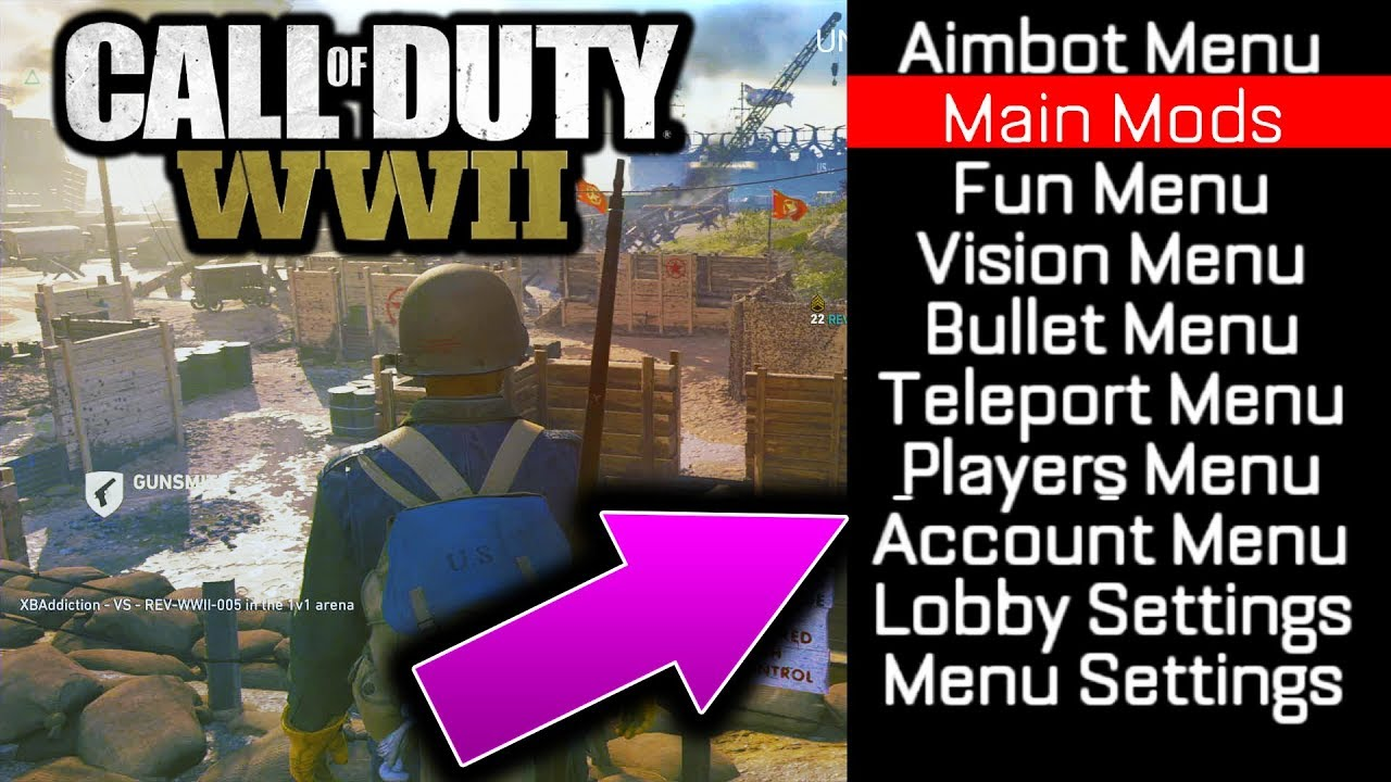 Call of duty ww2 hacks xbox | Call of Duty WW2  2019-09-12