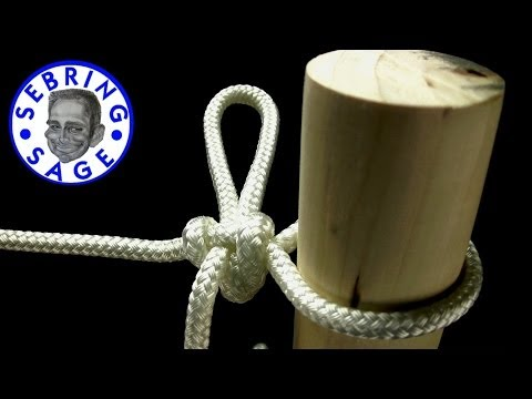 Knot Tying: The High Post Hitch