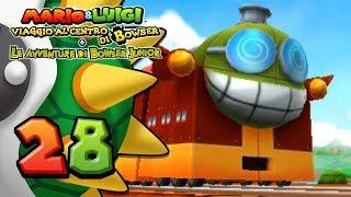 Mario & Luigi Viaggio al centro di Bowser 3DS ITA [Parte 28 - Sogghigno Express] thumbnail