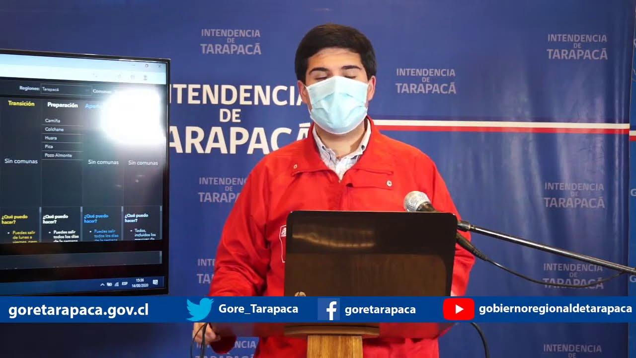 Punto de prensa 14 de agosto de 2020 - Gobierno Regional de Tarapacá