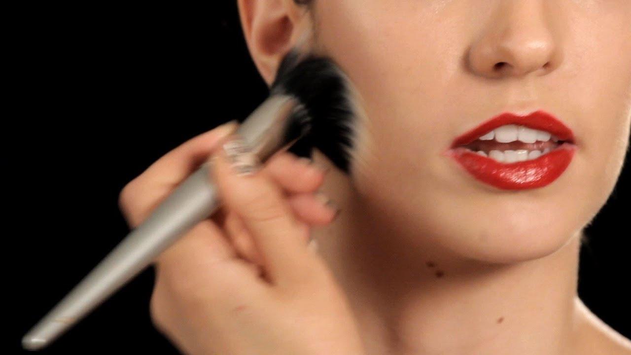 How to use stippling brush apply foundation | astar tutorial.