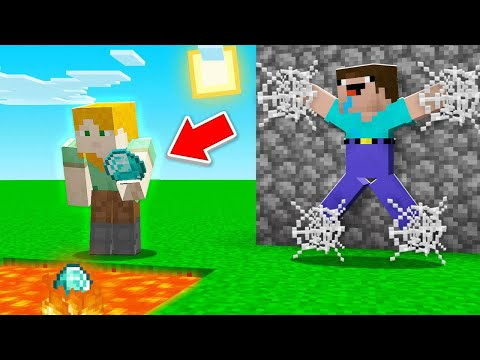 Burning RESOURCES Troll in Minecraft!
