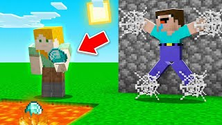 Burning RESOURCES Troll in Minecraft!