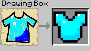 Minecraft Bedwars but if you draw an item you get it..