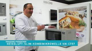 Panasonic Expertentalk - Mikrowelle NN-CT57