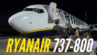 FLIGHT REPORT / RYANAIR 737-800 NEW CABIN STYLE  / NANTES - MARSEILLE