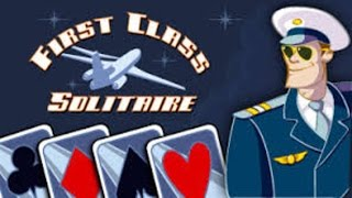 Pogo Games ~ First Class Solitaire GamePlay