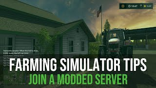 Farming Simulator 15 Tutorial: How to download, install mods and connect to our server!