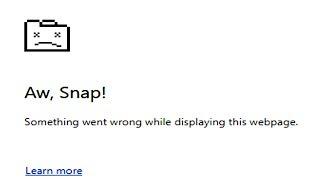 Wie Kann Man Das Google Chrome ''Aw, Snap!'' Fehler 100% Arbeit