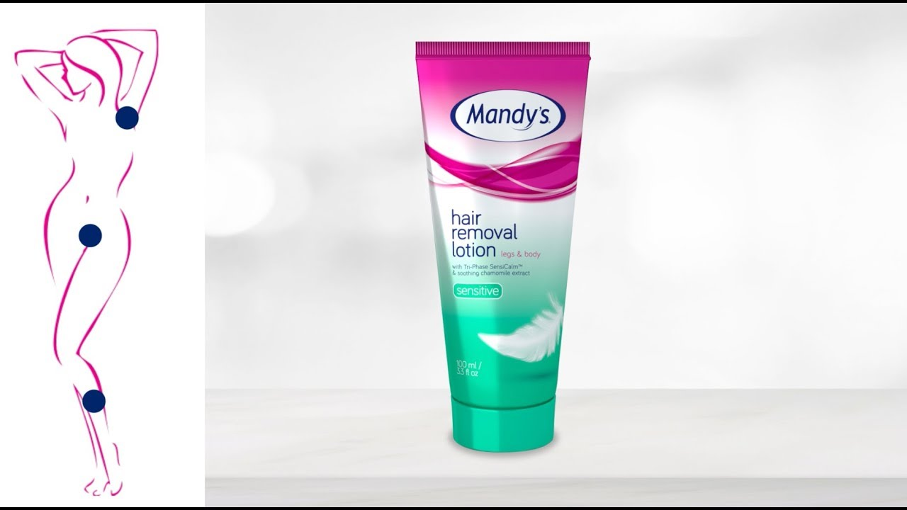 Mandy S Hair Removal Lotion Sensitive Youtube