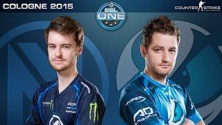 CS:GO - EnVyUS vs. Luminosity [Cbble] - ESL One Cologne 2015 - Group B