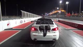 EKanooRacing's Lexus ISF Twin Turbo Crash