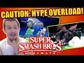 THIS IS TOO MUCH SMASH HYPE!! Super Smash Bros Ultimate NEW Trailers Reaction!!