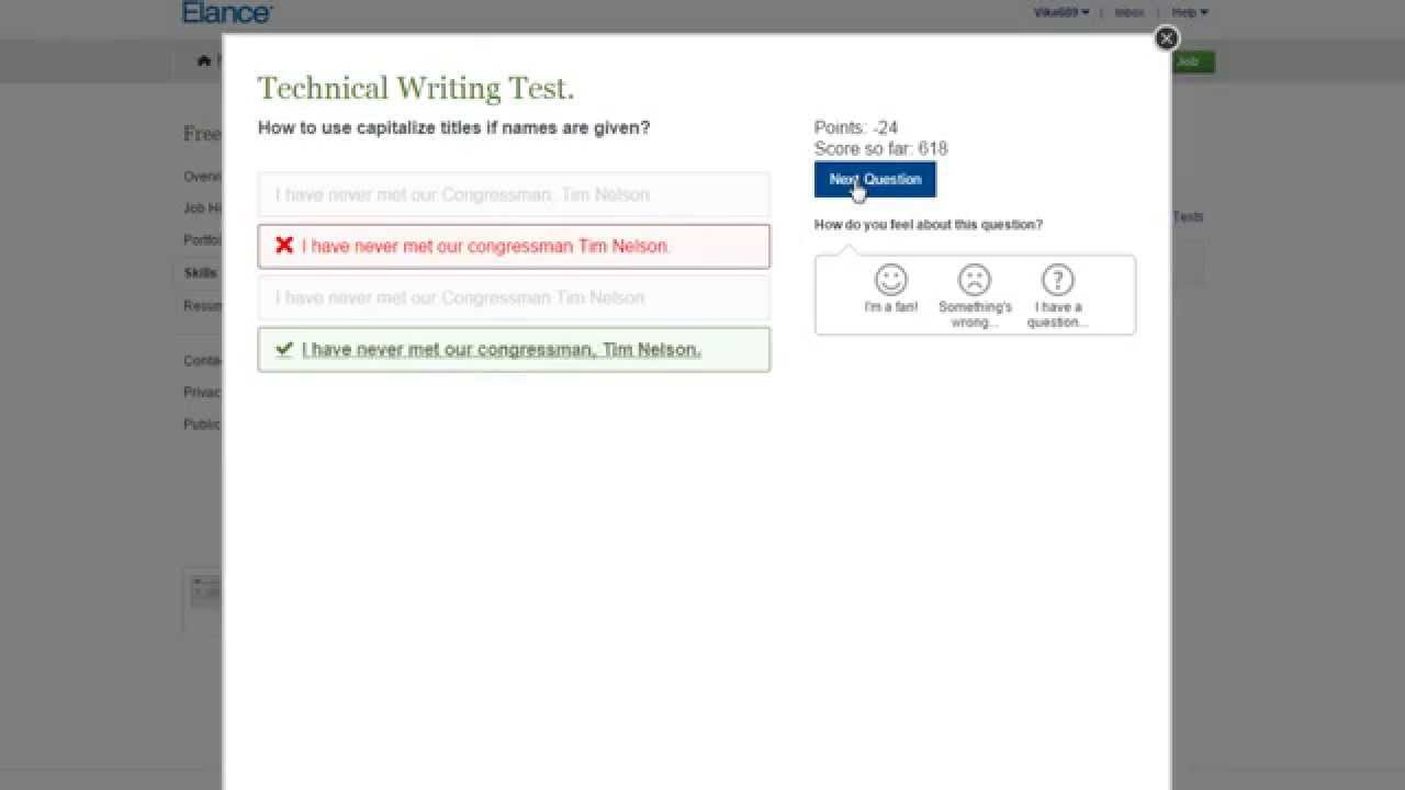 elance technical writing test answers 2015 elance technical writing test answers 2015