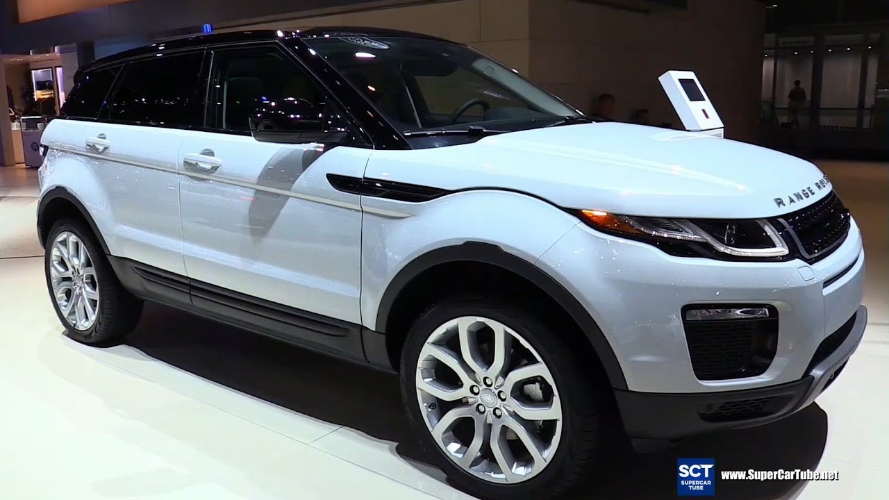 2017 range rover evoque se premium exterior and interior walkaround 2016 la auto show youtube. Black Bedroom Furniture Sets. Home Design Ideas