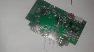 ремонт музыкальной колонки Замена вырваного USB разъема