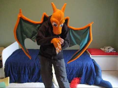 & Completed Costume -Charizard - YouTube