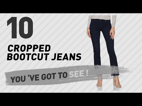 A Hint Of Flare: Cropped Bootcut Jeans For Women // The Fall Denim Guide
