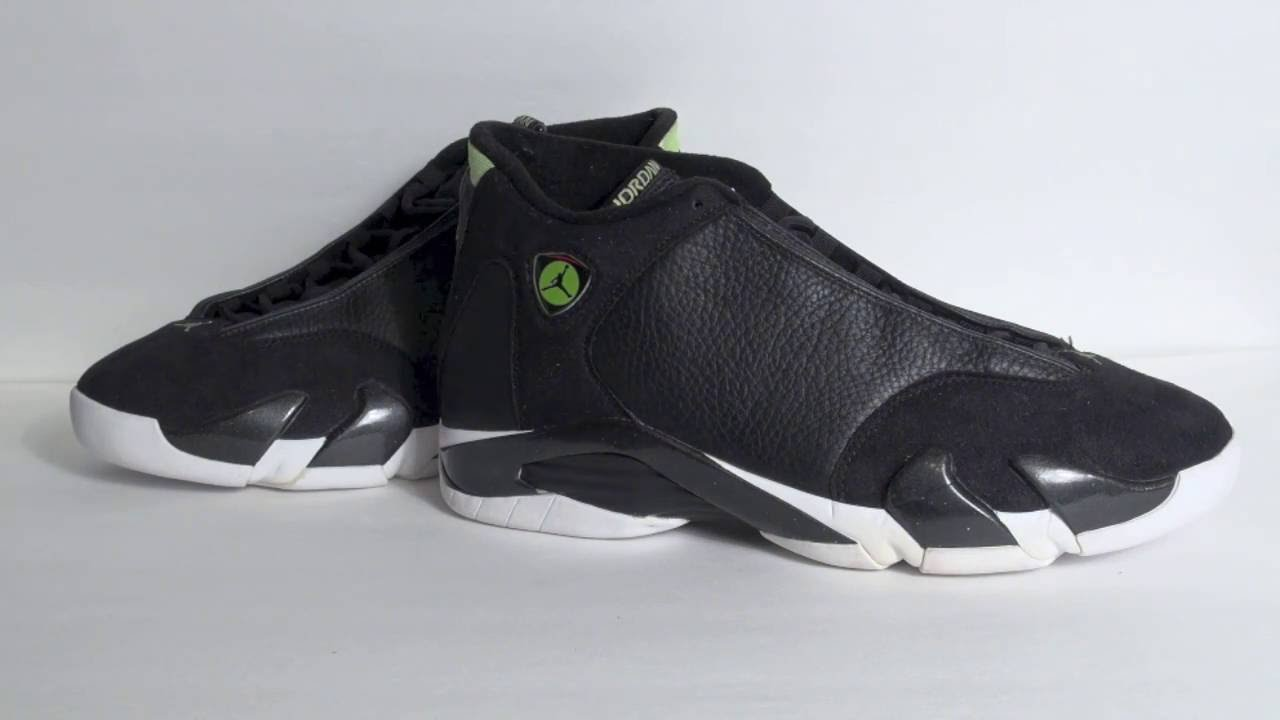 86c8019c111 Vault  Air Jordan 14 Original (OG) Indiglo 1999 - YouTube