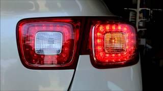 말리부: 2013 쉐보레 순정 LED테일램프 장착, 카리더스클럽 부산강서구명지동