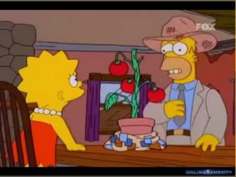 LOS SIMPSONS - quieren comer tomaco (latino)