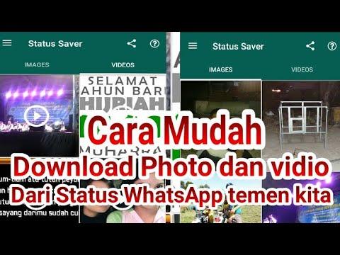 cara download status video wa