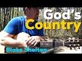 God's Country | Blake Shelton | Beginner Guitar Lesson