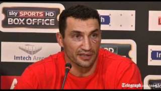 Wladimir Klitschko beats Haye in world unification fight.
