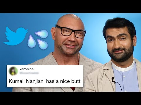 Dave Bautista And Kumail Nanjiani Read Thirst Tweets