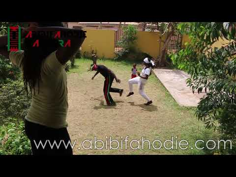 Abibifahodie Asako - Afrikan Combat Capoeira post-class light sparring September 13, 2018