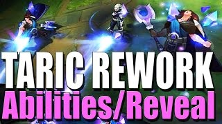 TARIC REWORK ABILITIES + REVEAL PREVIEW - League of Legends