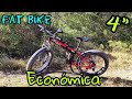"""Mostrando Mi Bicicleta De Montaña Fat De 26"""" Y 4"""" De Ancho"""