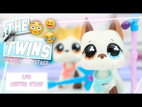 LPS: The Twins  Center Stage Discontinued