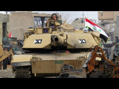 Exército iraquiano libertando a cidade de Ramadi do ISIS - 24.12.2015