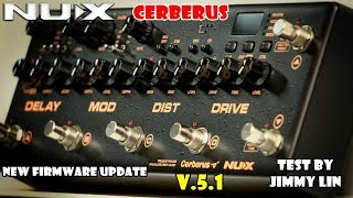 My 4 favorite Presets for the NUX Cerberus (V.5.1 firmware update)