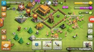 jogando clash of clans (COMEÇANDO NO CLASH OF CLANS)#4
