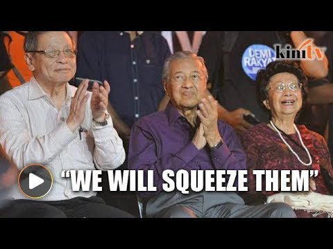 Mahathir: We'll squeeze 1MDB funds out of Jho Low and Najib