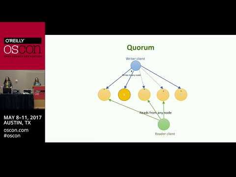 OSCON: Intuitive distributed algorithms with examples - Alena Hall and Natallia Dzenisenka