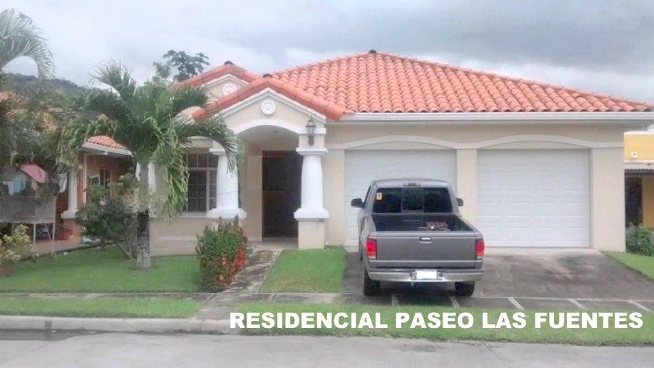 Que bonitas casas las de san pedro sula en venta youtube for Fachadas de casas modernas en honduras
